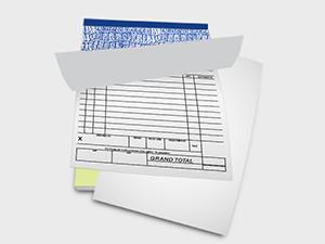 Quadruplicate Invoice Book